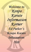 Screenshot of Kenpo Karate Info Korner