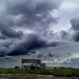 Vibrance is an attribute of life by Himadri Distant Tide - Landscapes Cloud Formations