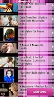 Screenshot of Hairstyles for Teens