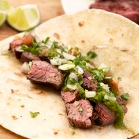 Grilled Marinated Flank Steak Fajitas