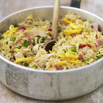 Speedy Spicy Turkey Rice