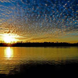 Sun set by Joe Shelton - Landscapes Cloud Formations (  )