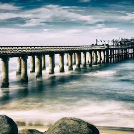 Swakopmund pier by Marleen la Grange - Buildings & Architecture Bridges & Suspended Structures
