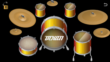 Screenshot of Virtual Drum Set