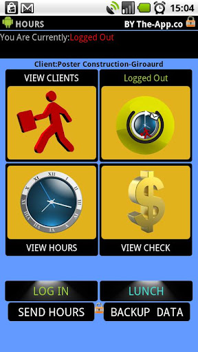 .Hours - Time Clock Card free