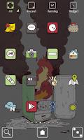 Screenshot of Mozza Hot&Cold Dodol Theme