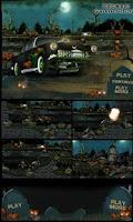 Screenshot of Halloween Graveyard