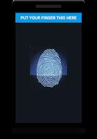 Screenshot of FINGERPRINT LOCK SCANNER HD