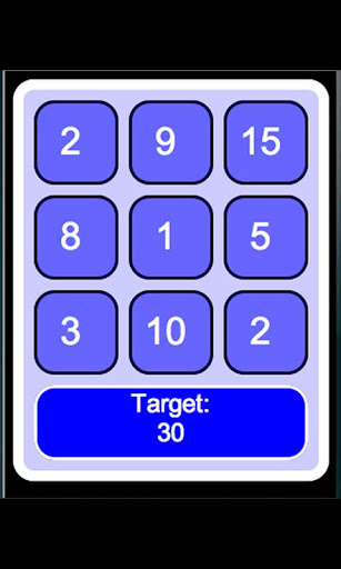 Targetboard Grids