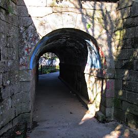 O Tunel by Lia Ribeiro - City,  Street & Park  City Parks