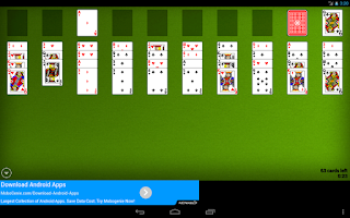 Screenshot of Solitaire Classics