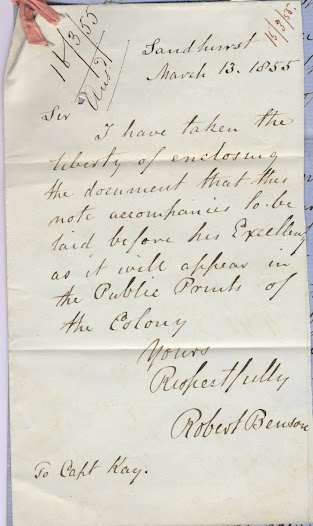 "This resolution from diggers in Bendigo, dated 13 March 1855, strongly criticises the government's handling of the State Treason Trials, and the 'unbecoming desire for vengeance' which this conduct demonstrated.  <a href=""http://wiki.prov.vic.gov.au/index.php/Eureka_Stockade:Bendigo_Reform_League_call_for_the_abandonment_of_the_State_Trial"">Click here to see more of this record on our wiki</a>."