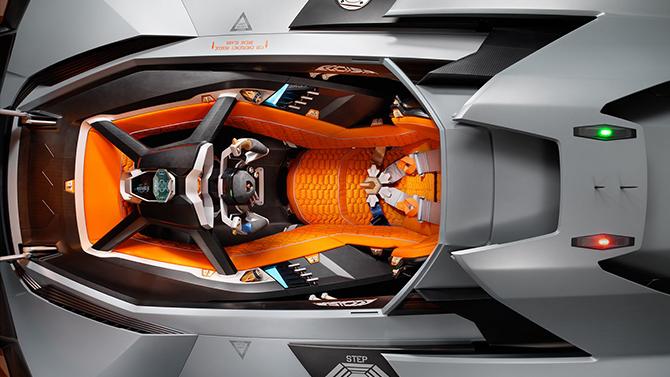 Lamborghini Egoista top open