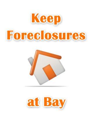 Keep Foreclosures at Bay