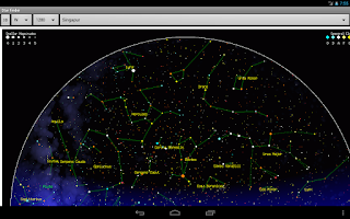 Screenshot of Star finder