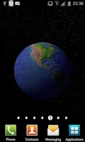 Screenshot of Planet Earth 3D Live Wallpaper