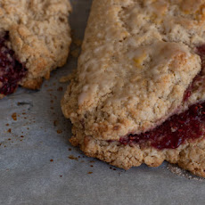 Raspberry Mega Scones