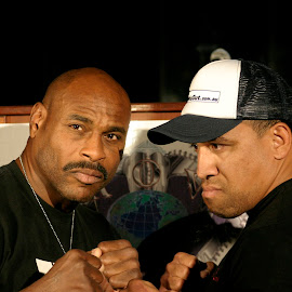 Oliver McCall v John Hopoate by Stephen Jones - Sports & Fitness Boxing