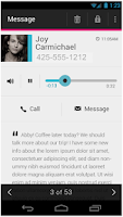Screenshot of T-Mobile Visual Voicemail