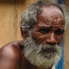 Displeased ! by Raj Sarkar - People Portraits of Men