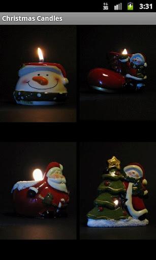 免費的聖誕蠟燭