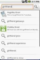 Screenshot of Contact Search+
