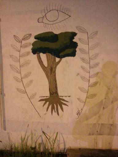 Grafitti De Olho Na Árvore