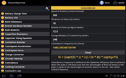 Classical Physics Pack Tablet