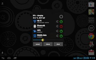 Screenshot of Tiny Battery Widget