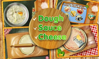 Screenshot of Pizza Maker Crazy Chef Game