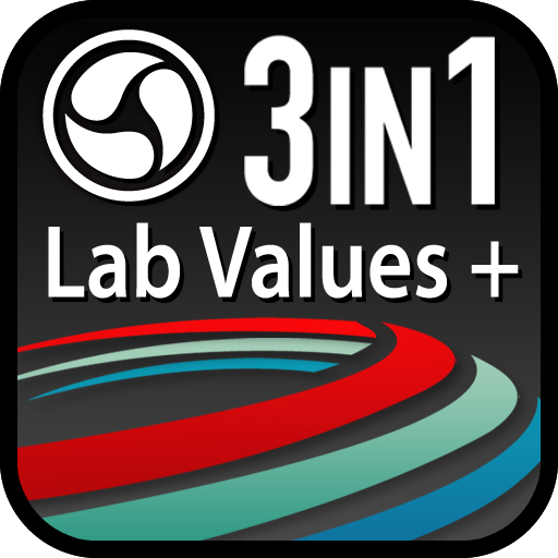 Lab Values + Medical Reference LOGO-APP點子