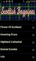 Screenshot of Scottish Bagpipes Free