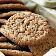The Best Peanut Butter Oatmeal Chocolate Chip Cookies!