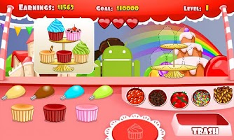 Screenshot of Cupcake Stand HD FREE