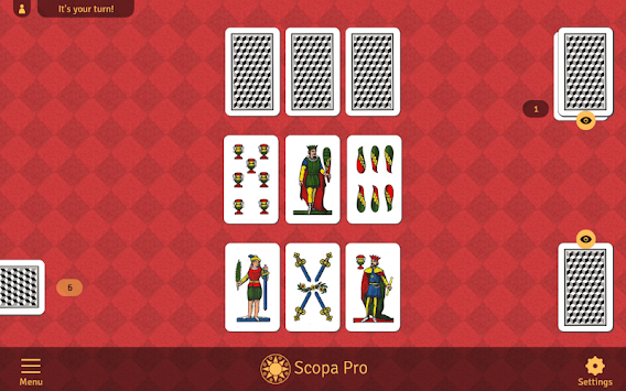 Scopa Pro APK screenshot thumbnail 6
