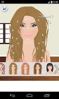Screenshot of cut hair games