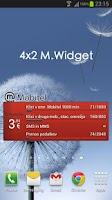 Screenshot of M.Widget - poraba za Mobitel