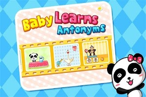 Screenshot of Antonyms by BabyBus