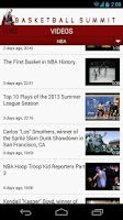 Screenshot of Basketball Summit: NBA news