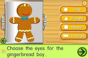Screenshot of Starfall Gingerbread