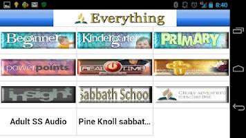 Screenshot of SDA Everything