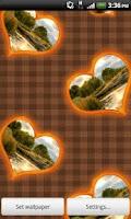 Screenshot of Big Love & Heart Photo Frames