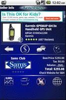 Screenshot of Amobico Shopper Lite
