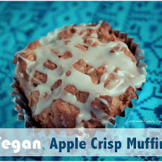 Vegan, Apple Crisp Muffins