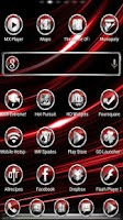 Screenshot of CrystalX HD Multi Theme Red