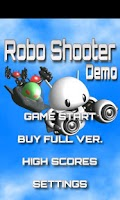 Screenshot of Robo Shooter Demo