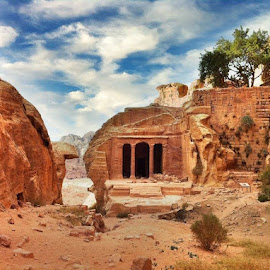 Petra, Jordan by Tyrell Heaton - Buildings & Architecture Decaying & Abandoned ( iphone4, petra )
