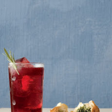 Ginger Red-Wine Spritzer