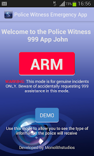 Police Witness 999 Assistance - screenshot