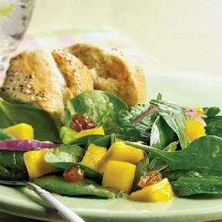 Spinach Mango Salad Recipes